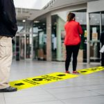 Floor signs help your customers and employees maintain social distance.